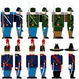 The Armed Forces of the Union army-1 Royalty Free Stock Photography