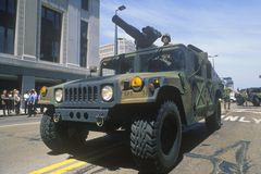 Armed Jeep Stock Images