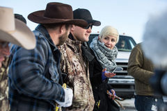 Oregon Armed Militia Standoff - Malheur Wildlife Refuge Stock Image
