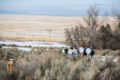 Oregon Armed Militia Standoff - Malheur Wildlife Refuge Royalty Free Stock Photos