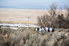Oregon Armed Militia Standoff - Malheur Wildlife Refuge Royalty Free Stock Photos