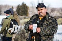 Oregon Armed Militia Standoff - Malheur Wildlife Refuge Stock Images
