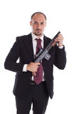 Armed Mobster Stock Photo