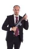Armed Mobster Stock Image