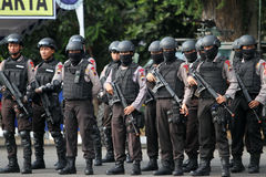 Armed police Stock Images