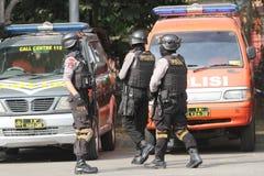 Armed police Stock Photo