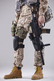 Armed Soldier Royalty Free Stock Images