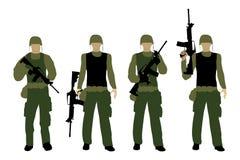 Armee 1 lizenzfreie abbildung