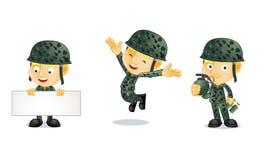 Armee 1 stock abbildung