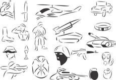 Armee vektor abbildung