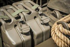 Armee-Brennstoff Stockbild