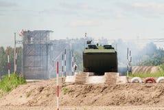 Armee Games-2017 Wettbewerb Tyumen des sicheren Weges Russland Lizenzfreie Stockfotografie