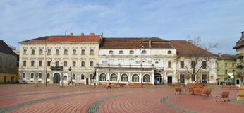 Armee-Haus Timisoara Stockfoto