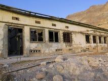 Armee-Kasernen-Ruine in en Gedi, Israel Lizenzfreie Stockbilder