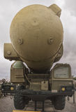 Armee-LKW-Kernraketenwerfer Lizenzfreie Stockfotos