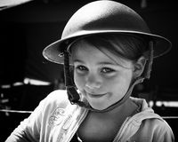 Armee-Mädchen Stockbild