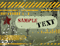 Armee/Marine/grunge Rückseite Lizenzfreies Stockbild
