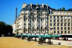 Armee-Museum von Paris Stockfotos