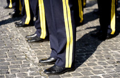 Armee-Orchester Lizenzfreie Stockfotos