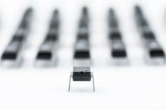 Armee von Prozessoren Lizenzfreies Stockfoto