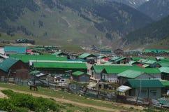 Armeelager in Pahalgam-2 Stockfotografie