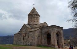 Armeens klooster Tatev van de 9de eeuw royalty-vrije stock afbeelding