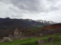 Armeens klooster Tatev van de 9de eeuw royalty-vrije stock afbeeldingen