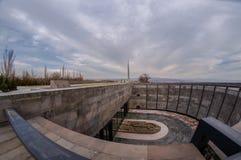 Armeens Volkerenmoordgedenkteken Stock Afbeelding