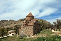 Armeense Kathedraal in Van City, Turkije Royalty-vrije Stock Afbeeldingen