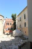 Armeense Kathedraal van de Veronderstelling van Heilige Maagdelijke Mary Stad van Lviv ukraine Stock Fotografie