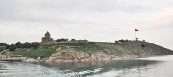 """Armeense kerk Achdamar in Bestelwagen van Anatolië †de """", Turkije Stock Afbeeldingen"""
