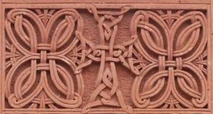 Armeense khachkar royalty-vrije stock afbeeldingen