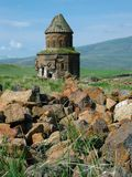 Armeense ruïnes Royalty-vrije Stock Afbeelding
