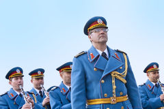 Armeeorchester Stockfoto