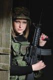 Armeeschönheit Stockbilder