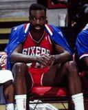 Armen Gilliam Philadelphia 76ers Arkivfoto