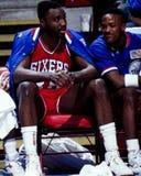 Armen Gilliam, Philadelphia 76ers Royalty Free Stock Photos