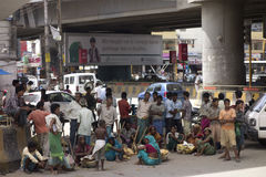 Armen und Armut Lizenzfreies Stockbild