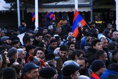 Armenië 1 Maart stock afbeelding