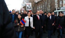 Armenië 1 Maart royalty-vrije stock afbeelding