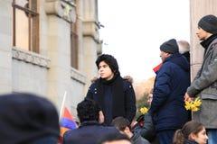 Armenië 1 Maart royalty-vrije stock afbeeldingen