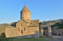 Armenië, de Kerk van St Gevorg in het middeleeuwse klooster van Goshavank royalty-vrije stock afbeelding