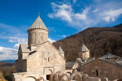 armenië Klooster Haghartsin dag stock fotografie