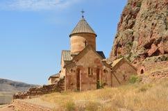 Armenië, Noravank-klooster, oude kerk stock afbeeldingen