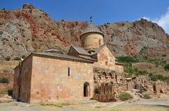 Armenië, Noravank-klooster, oude kerk royalty-vrije stock foto
