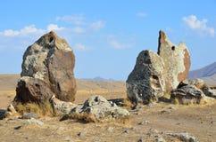 Armenië, Stonehenge, bronstijd royalty-vrije stock afbeeldingen