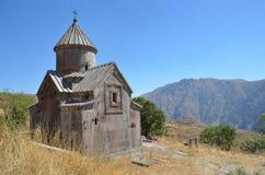 Armenië, Tsahats -tsahats-kar klooster, de kerk van eeuw 10 royalty-vrije stock afbeelding