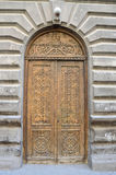 Armenia, ancient monastery Goshavank in the mountains. Details, ancient door Stock Photo