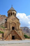 Armenia, antyczny monaster Noravank Obraz Stock
