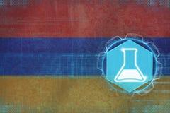 Armenia chemia Chemiczny produkci pojęcie Zdjęcia Stock